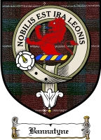 Bannatyne Clan Badge / Tartan FREE preview