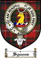 Symons Clan Badge / Tartan FREE preview