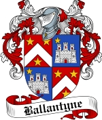 Ballantyn Family Crest / Ballantyn Coat of Arms JPG Download
