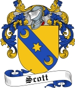 Scott Family Crest / Scott Coat of Arms JPG Download