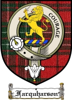 Farquharson Clan Badge / Tartan FREE preview