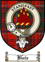 Buie Clan Macdonald Clan Badge / Tartan FREE preview