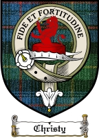 Christy Clan Badge / Tartan FREE preview
