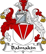 Balmakin Family Crest / Balmakin Coat of Arms JPG Download