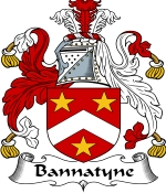 Bannatyne Family Crest / Bannatyne Coat of Arms JPG Download