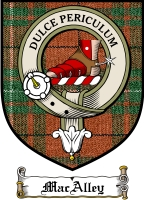 Macalley Clan Badge / Tartan FREE preview