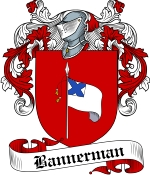 Bannerman Family Crest / Bannerman Coat of Arms JPG Download