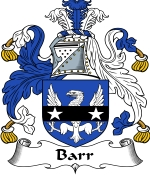 Barr Family Crest / Barr Coat of Arms JPG Download