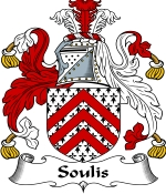 Soulis Family Crest / Soulis Coat of Arms JPG Download