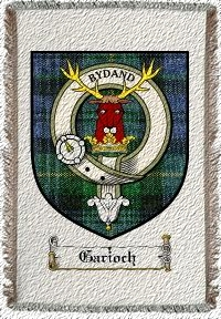 Garioch Clan Badge Throw Blanket