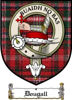 Dougall Clan Badge / Tartan FREE preview