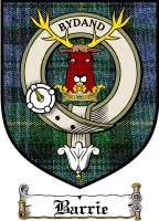 Barrie Clan Badge / Tartan FREE preview