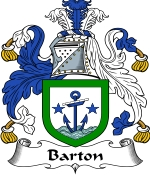 Barton Family Crest / Barton Coat of Arms JPG Download
