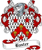 Baxter Family Crest / Baxter Coat of Arms JPG Download