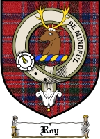 Roy Clan Robertson Clan Badge / Tartan FREE preview