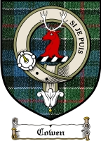 Cowen Clan Macdougall Clan Badge / Tartan FREE preview