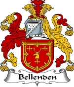 Bellenden Family Crest / Bellenden Coat of Arms JPG Download