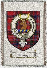 Gilvray Clan Badge Throw Blanket