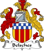 Belsches Family Crest / Belsches Coat of Arms JPG Download