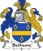 Bethune Family Crest / Bethune Coat of Arms JPG Download