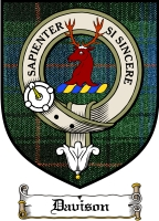 Davison Clan Badge / Tartan FREE preview