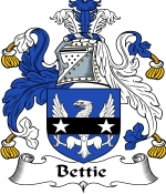 Bettie Family Crest / Bettie Coat of Arms JPG Download