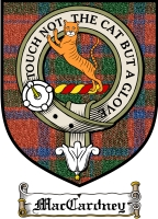 Maccardney Clan Badge / Tartan FREE preview