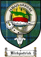 Kirkpatrick Clan Macgregor Clan Badge / Tartan FREE preview