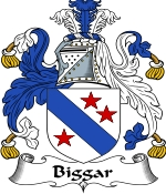 Biggar Family Crest / Biggar Coat of Arms JPG Download