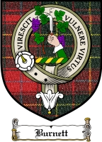 Burnett Clan Campbell Clan Badge / Tartan FREE preview