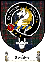Combie Clan Badge / Tartan FREE preview