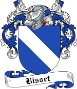 Bisset Family Crest / Bisset Coat of Arms JPG Download