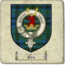 Urie Clan Keith Clan Badge Marble Tile