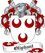 Oliphant Family Crest / Oliphant Coat of Arms JPG Download