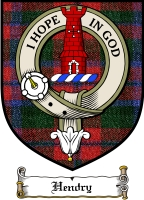 Hendry Clan Badge / Tartan FREE preview