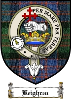 Keighren Clan Badge / Tartan FREE preview