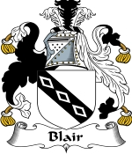 Blair Family Crest / Blair Coat of Arms JPG Download