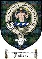Rattray Clan Rattray Clan Badge / Tartan FREE preview
