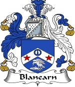 Blanearn Family Crest / Blanearn Coat of Arms JPG Download