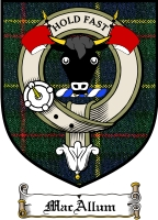 Macallum Clan Malcolm Clan Badge / Tartan FREE preview