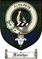 Fletcher Clan Macgregor Clan Badge / Tartan FREE preview