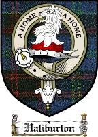 Haliburton Clan Badge / Tartan FREE preview