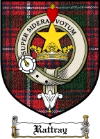 Rattray Clan Badge / Tartan FREE preview