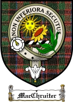 Macchruiter Clan Badge / Tartan FREE preview