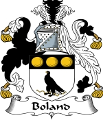 Boland Family Crest / Boland Coat of Arms JPG Download