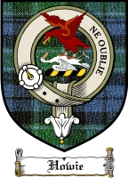 Howie Clan Macdonald Clan Badge / Tartan FREE preview