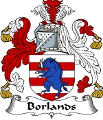 Borlands Family Crest / Borlands Coat of Arms JPG Download