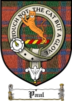 Paul Clan Mackay Clan Badge / Tartan FREE preview