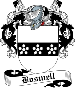 Boswell Family Crest / Boswell Coat of Arms JPG Download