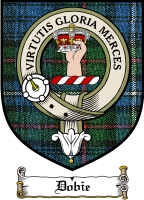 Dobie Clan Badge / Tartan FREE preview